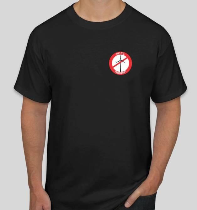 Bilde av T- skjorte Nei Til Vindkraft