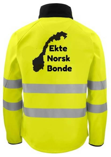 Bilde av Refleksjakke Ekte Norsk Bonde