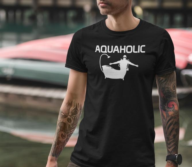 Bilde av T-skjorte AQUAHOLIC
