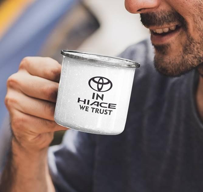 Bilde av In hiace we trust kaffekopp